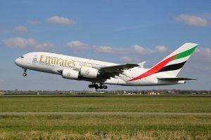 bigstock-Emirates-Airbus-A--Airplane-114949253